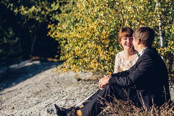 Märchenhaftes After-Wedding-Shooting im Wald